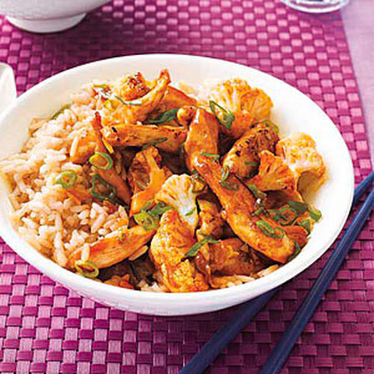 Sweet-and-Spicy Chicken Stir-Fry Recipe