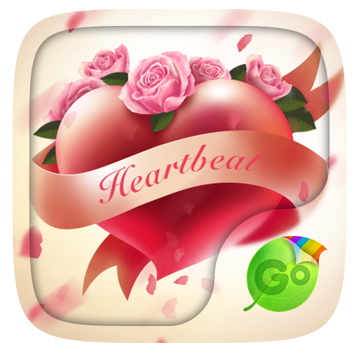 Heart beat GO Keyboard Theme