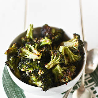 Oven Roasted Broccoli.