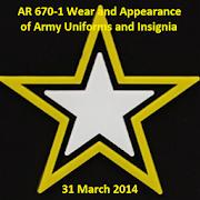 NEW AR 670-1 Wear & Appearance  Icon
