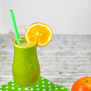 Orange Mango Green Smoothie