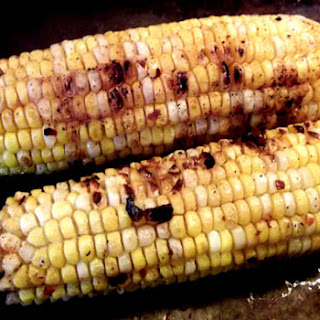 Spicy Roasted Corn on the Cob