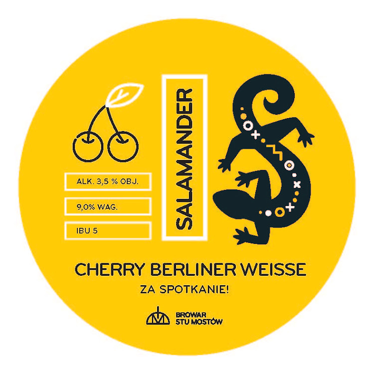 Logo of Salamander Cherry Berliner Weisse