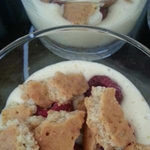 Raspberry and Butter Cookie Tiramisu