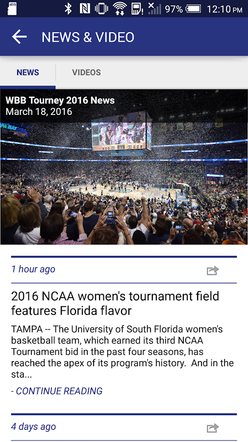 NCAA Women's Basketball- screenshot