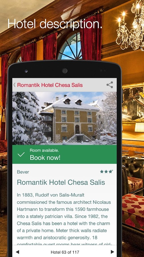 Best Swiss Hotels- screenshot