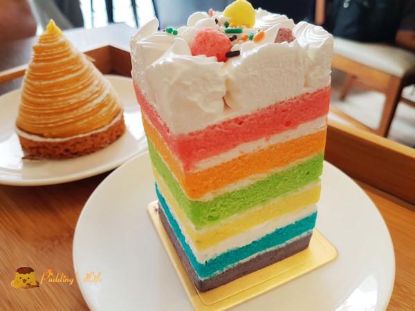 Chatime Lounge~療癒系繽紛彩虹蛋糕下午茶/茶飲界的星巴克