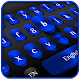 Cool Black Blue Keyboard Download on Windows