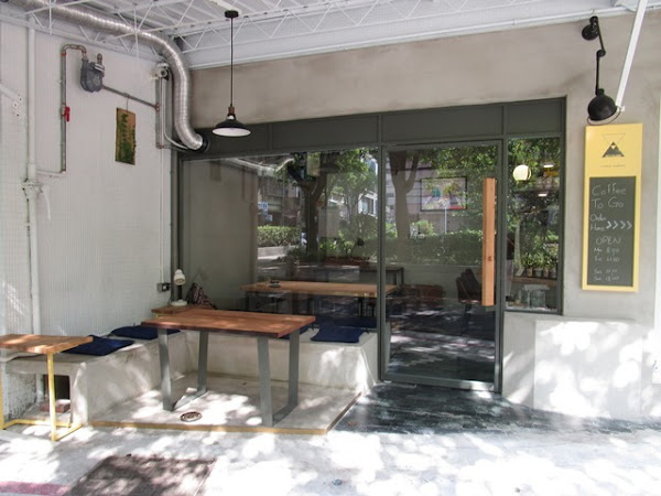 擁抱公園綠意的咖啡店~ Keystone Coffee Roasters