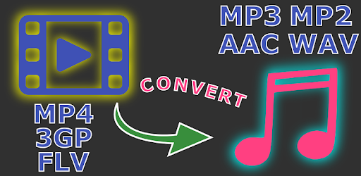 Select multiple video files (mp4, flv, 3gp) and convert to mp3, mp2, aac or wav