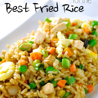 The Best Chicken Fried Rice