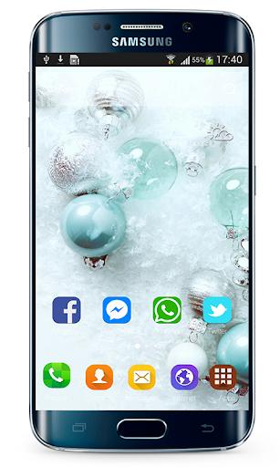 Launcher Samsung Galaxy A70 Theme ss1