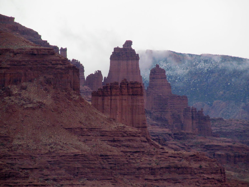 Photo: Fisher Towers
