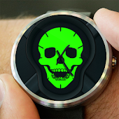 Watch Face - Elegant Skull