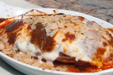 Italian Essentials: Easy/Peasy Mozzarella Chicken