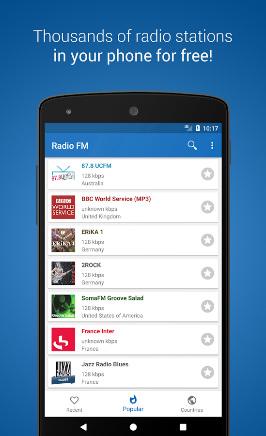 Radio FM Player - TuneFm- screenshot