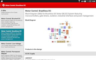 Screenshot of Texas Instruments