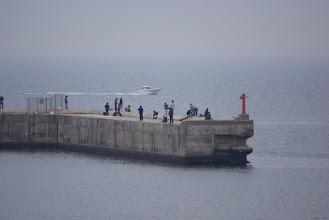 Photo: 冨具崎漁港の突堤
