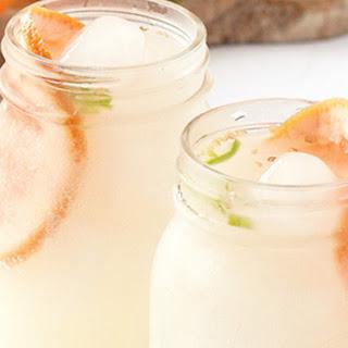 Sparkling Serrano and Grapefruit Cocktail