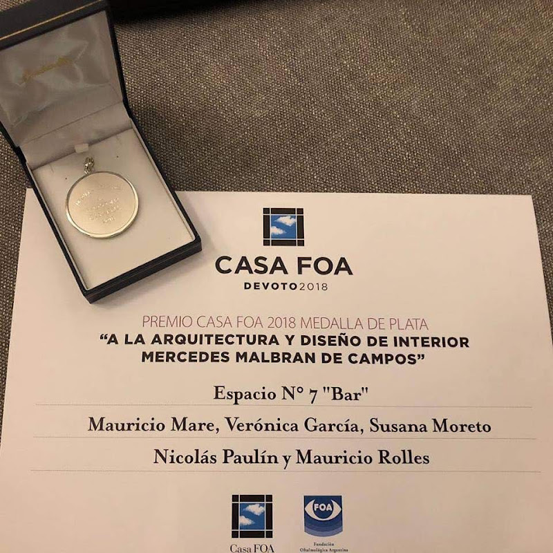 Casa FOA 2018: Bar - Verónica García, Nicolás Paulín, Mauricio Mare, Mauricio Rolles, Susana Moretto