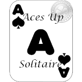 Aces Up Solitaire card game