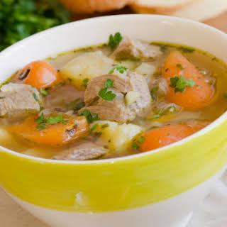 Herbed Irish Beef Beer Stew.