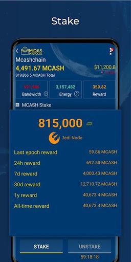 Midas Protocol - Crypto Wallet: Bitcoin, Ethereum 1.6.10 screenshots 6