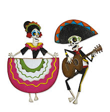 Tim Holtz Sizzix Thinlits Dies - Day of the Dead