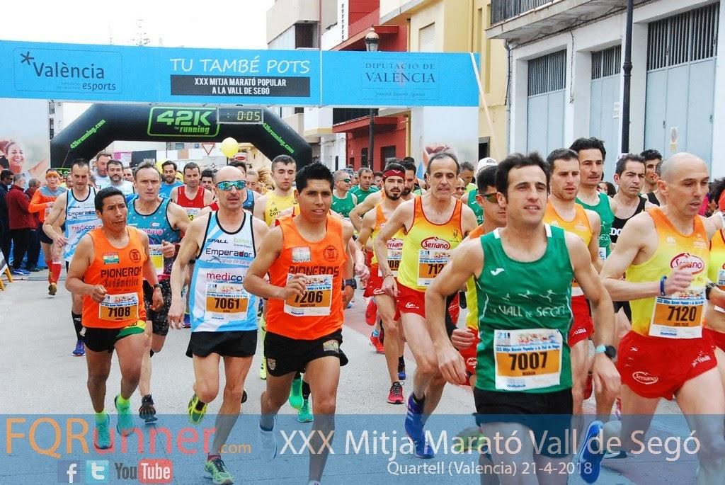 Fotos XXX Mitja Marató La Vall de Segó 2018