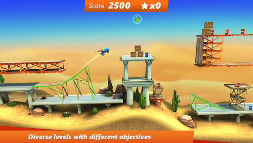 Bridge Constructor Stunts FREE - screenshot