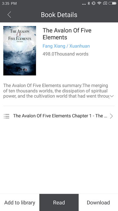 KungFu Novel-Explore Chinese novels,WuXia Fantasy APK Download