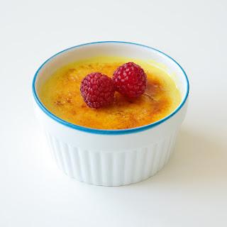 Vegan Crème Brûlée.