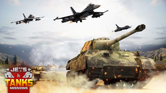 Tanks Jet Air Strike Planes Shooting Mission 2019 - náhled
