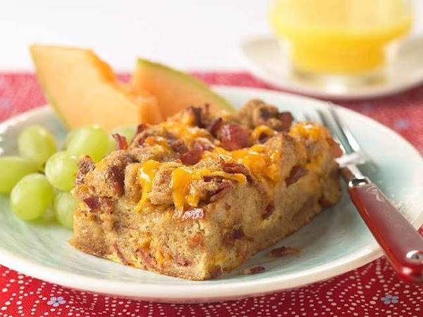 Overnight Bacon Casserole Recipe