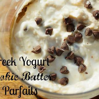 Greek Yogurt Cookie Batter Parfaits