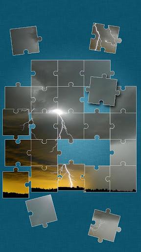 雷雨 拼圖遊戲 – 雷暴 益智遊戲