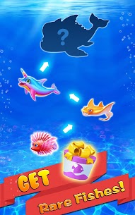 Merge Fish – Tap Click Idle Tycoon 2