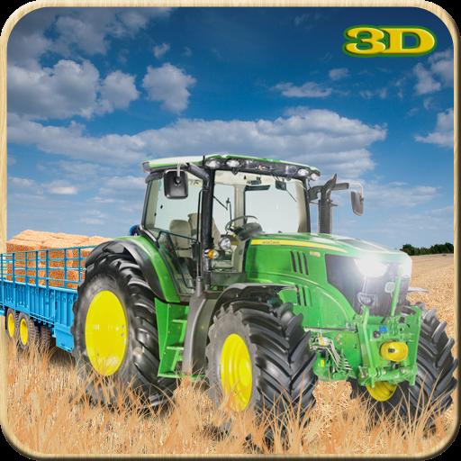农用拖拉机原木运输 模擬 App LOGO-硬是要APP