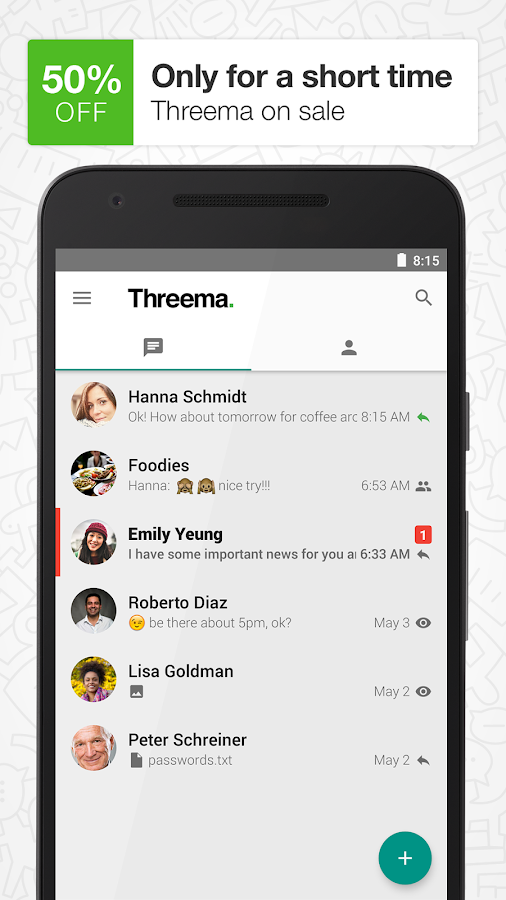 Threema- screenshot