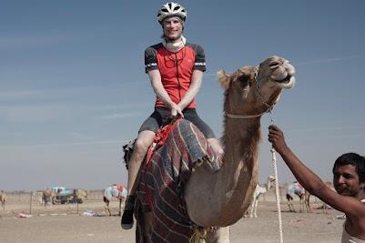 Ich auf Said's Kamel