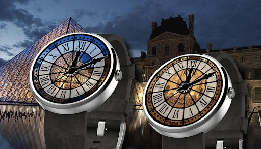 PARIS Watch Face - Moto 360
