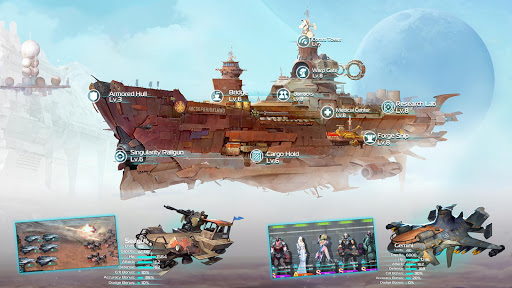 Ark of War: Galaxy Pirate Fleet  captures d'u00e9cran 20