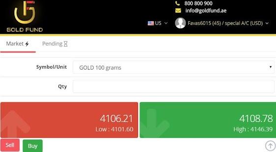 gold fund platform - náhled