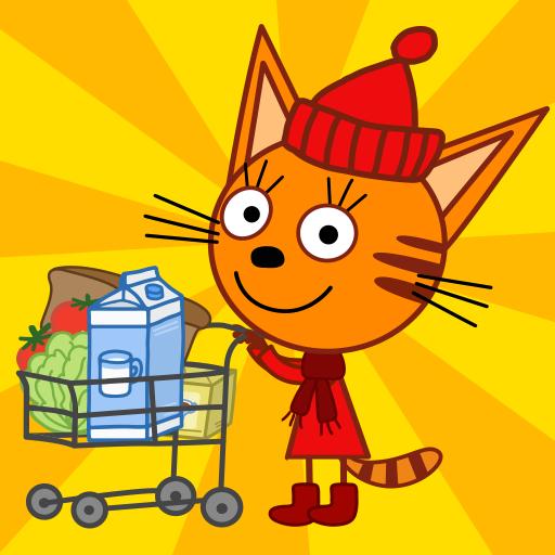 Три Кота Магазин Игра: Детские игры для детей СТС