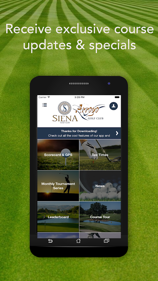 Arroyo & Siena GC- screenshot