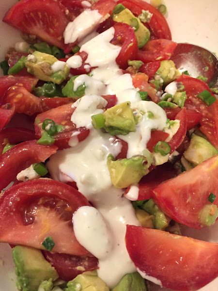 Avocado-tomato Salad With Bacon And Blue Cheese Recipe