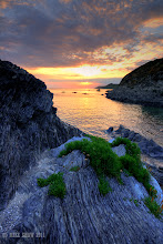 Photo: One of my favourite stomping grounds for sunsets, Combsegate Beach in North Devon UK, I could live here.