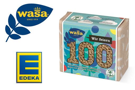Bild für Cashback-Angebot: Wasa 100 Jubiläumsknäcke bei EDEKA - Wasa