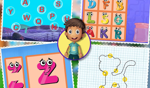 Kids Learning Letters Zone v1.0.0
