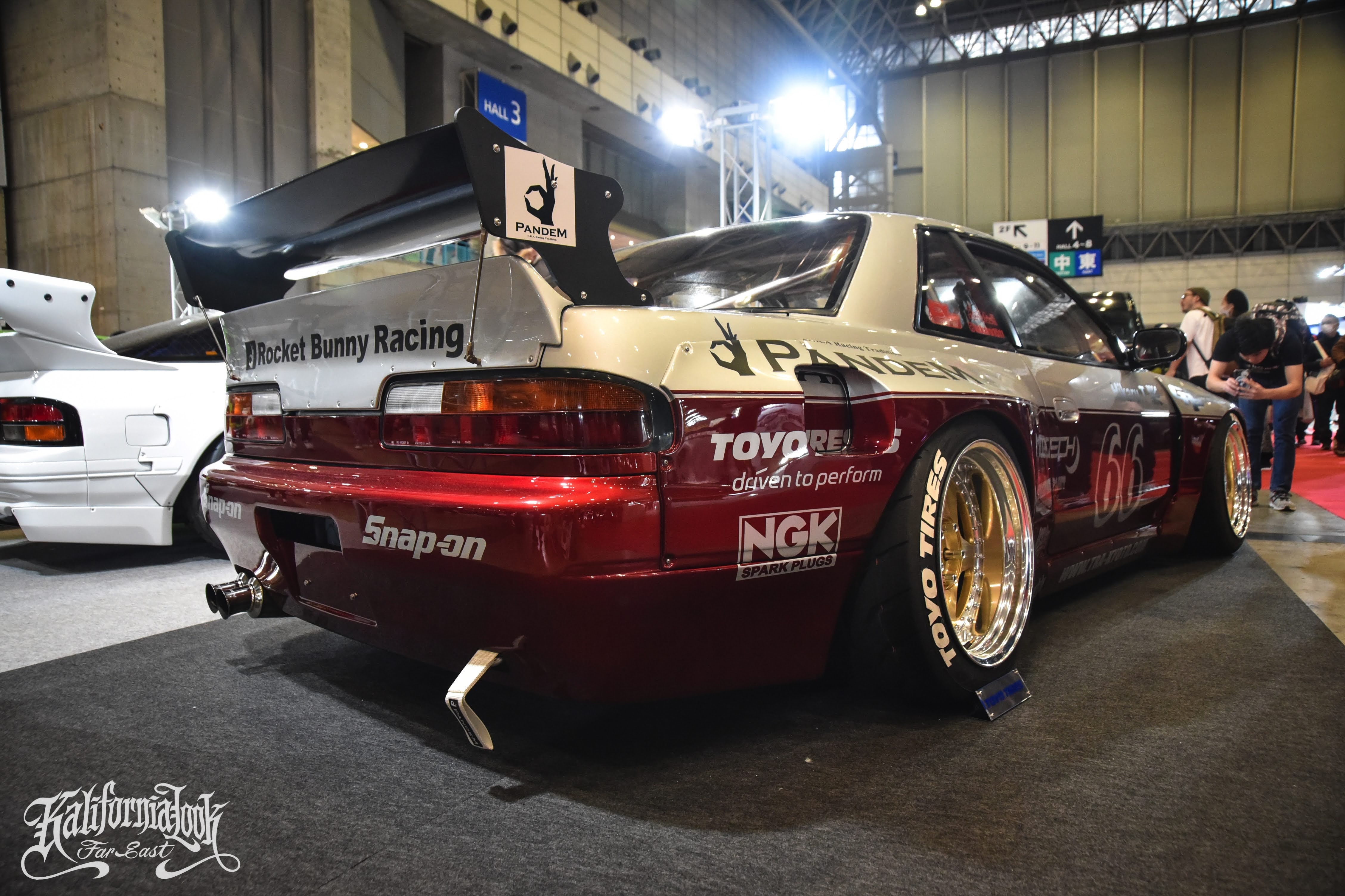 Rocket Bunny S13 Silvia by TRA KYOTO Tokyo Auto Salon 2020 More Photos will be up on www.Superfly-Autos.com